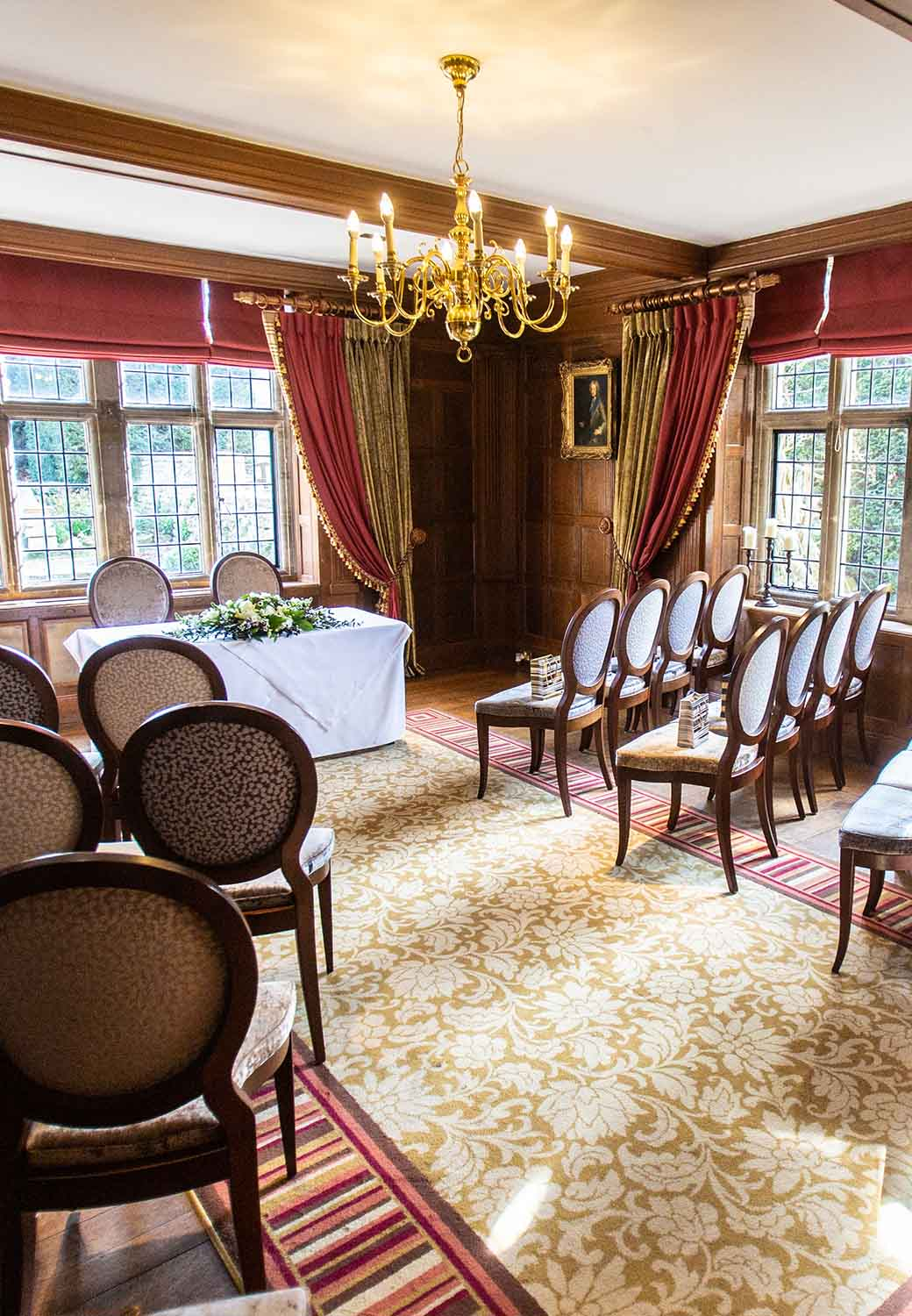 Ceremony Room at The Greenway Hotel and Spa Cheltenham