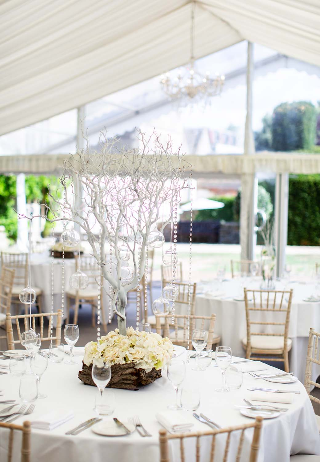 Marquee Weddings at The Greenway Hotel and Spa