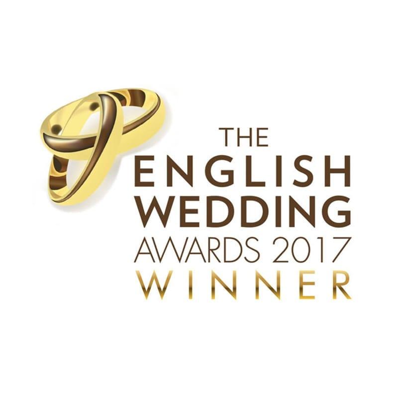 English wedding awards logo