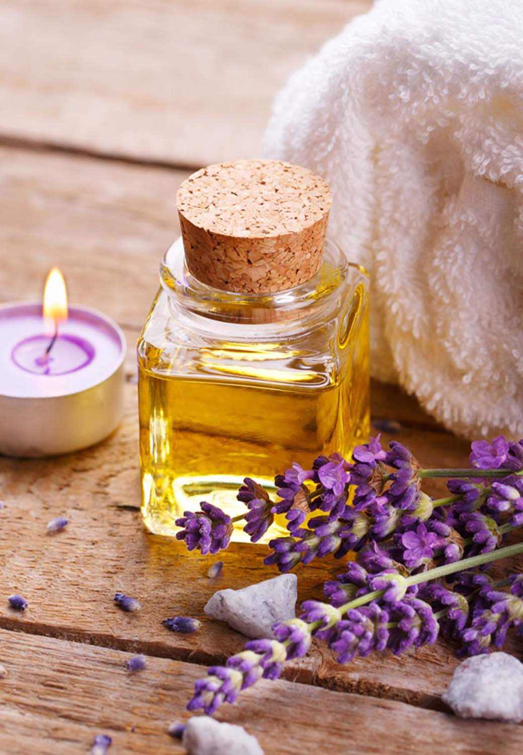 Greenway Hotel Spa treatments essential oils and lavender