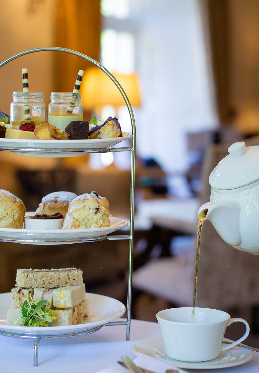 Hotel gift vouchers afternoon tea