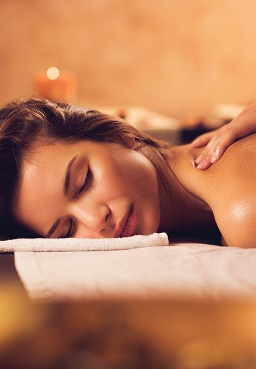 ESPA spa treatment massage