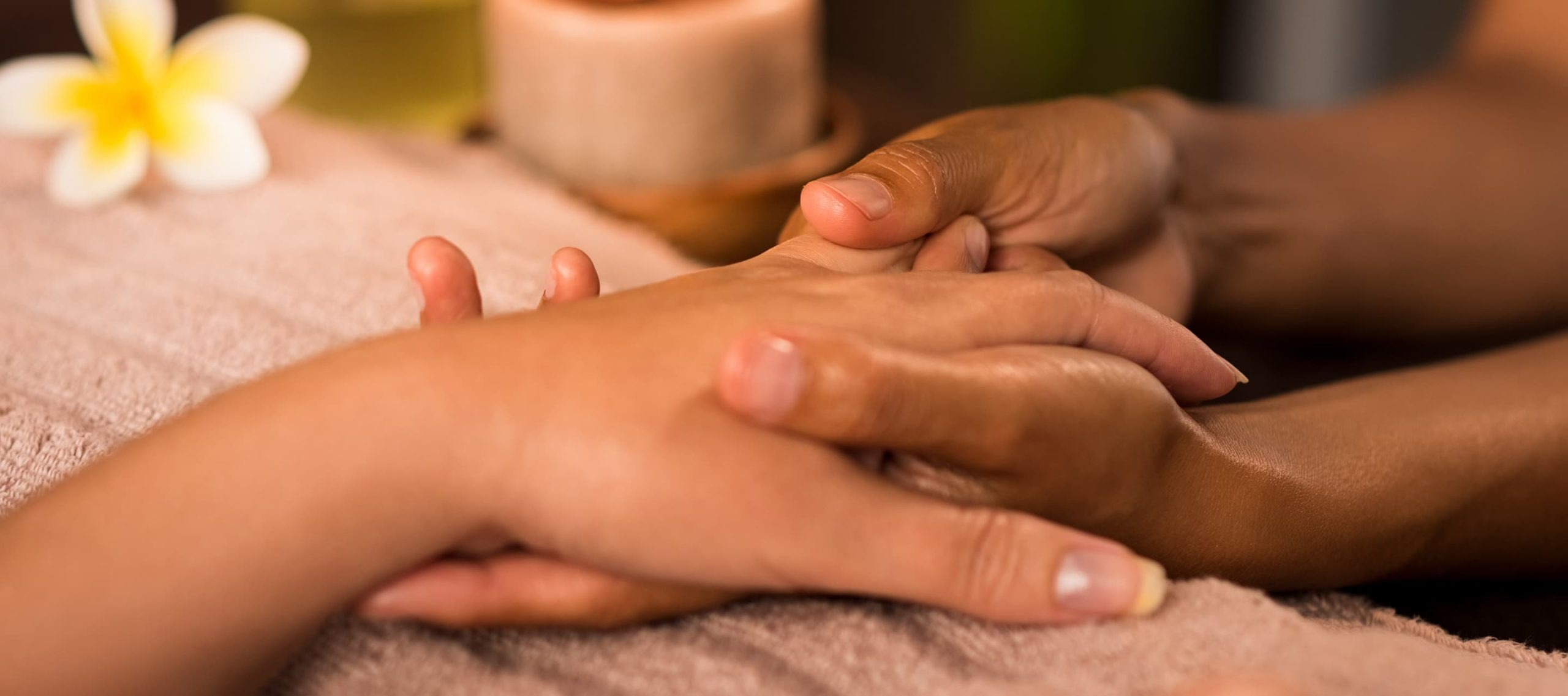 Hand massage at Greenway Hotel Spa